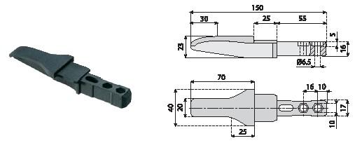 akcesoria dla profili, komponenty, linia produkcyjna Element łączący