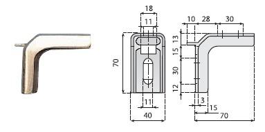 podpórki boczne, komponenty, linia produkcyjna