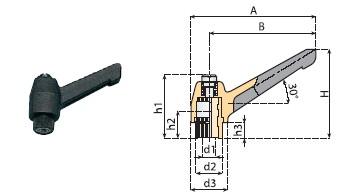 rączka regulująca, rączki regulujące, komponenty, linia produkcyjna